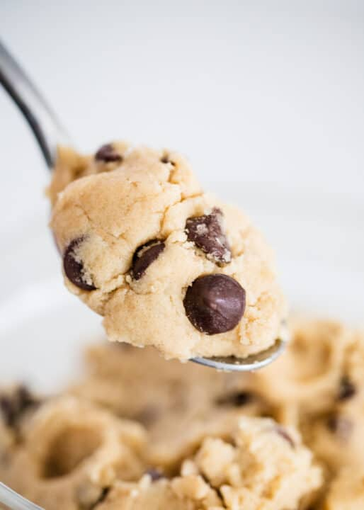 spoonful of cookie dough
