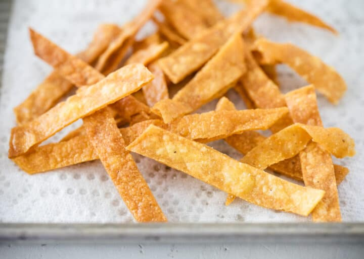 Easy 3 Ingredient Tortilla Strips I Heart Naptime