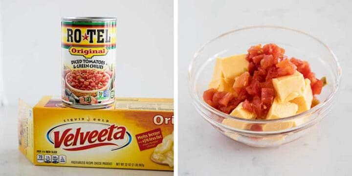 how to make queso with velveeta