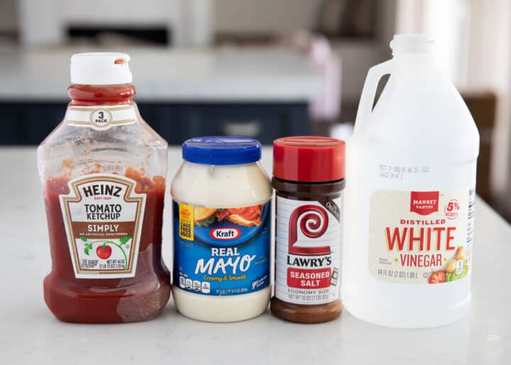 fry sauce ingredients