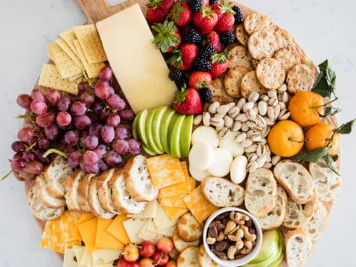 How to Make a Fruit and Cheese Platter - I Heart Naptime