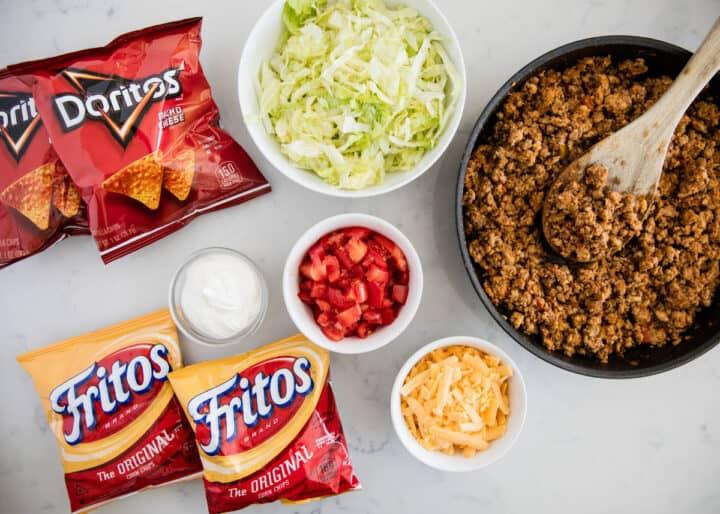 walking taco ingredients