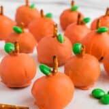 pumpkin oreo ball
