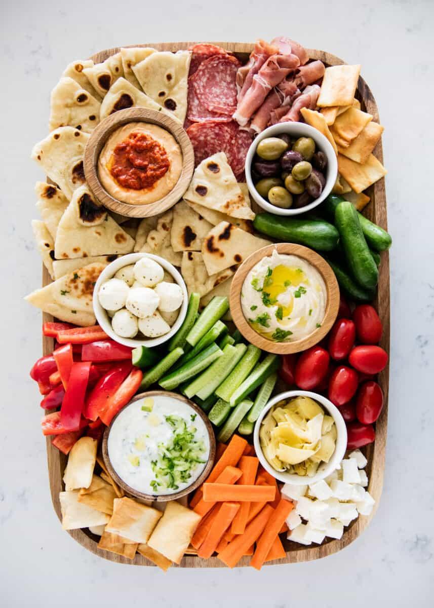 Easy Mediterranean Mezze Platter I Heart Naptime
