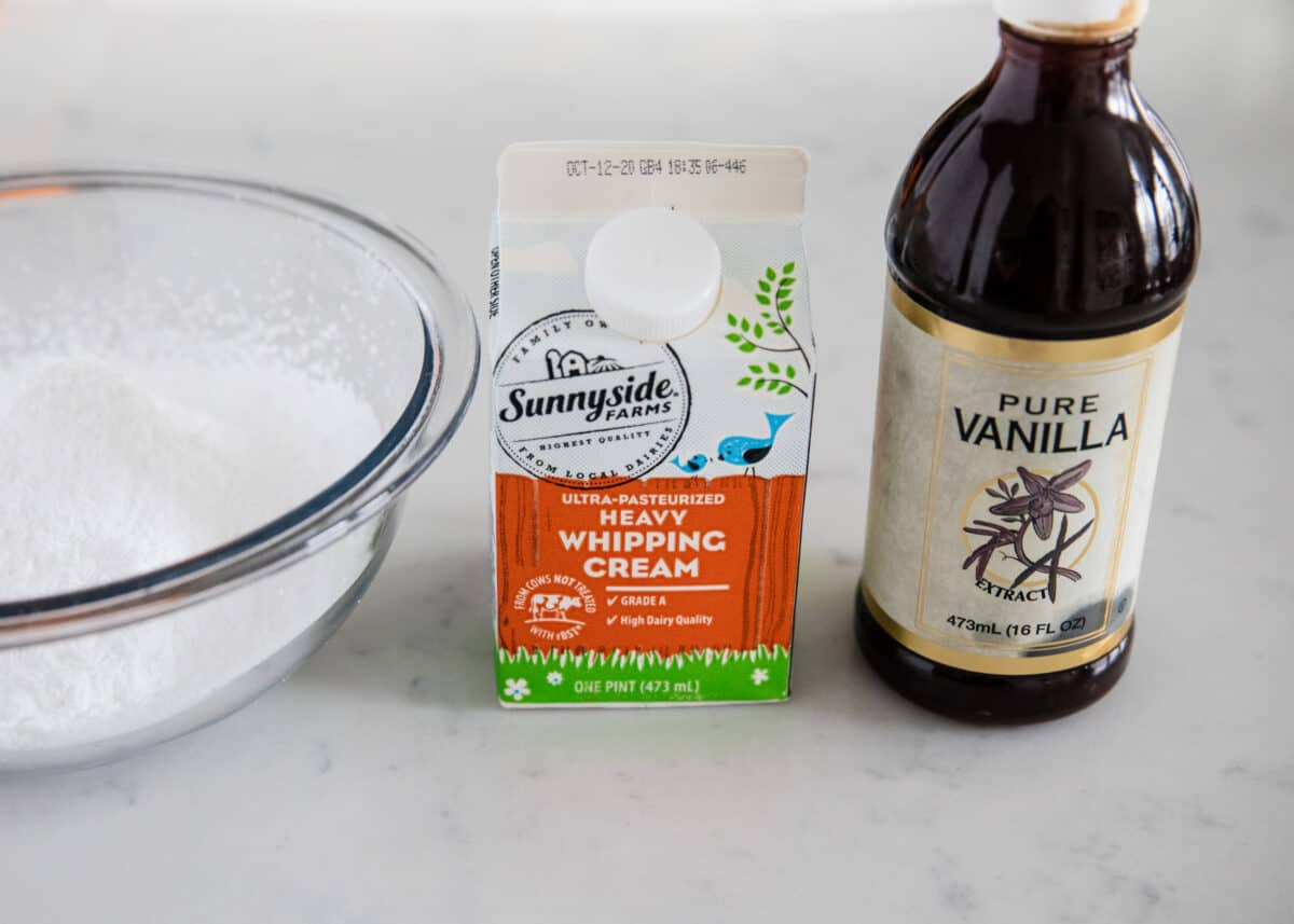 powdered sugar icing ingredients