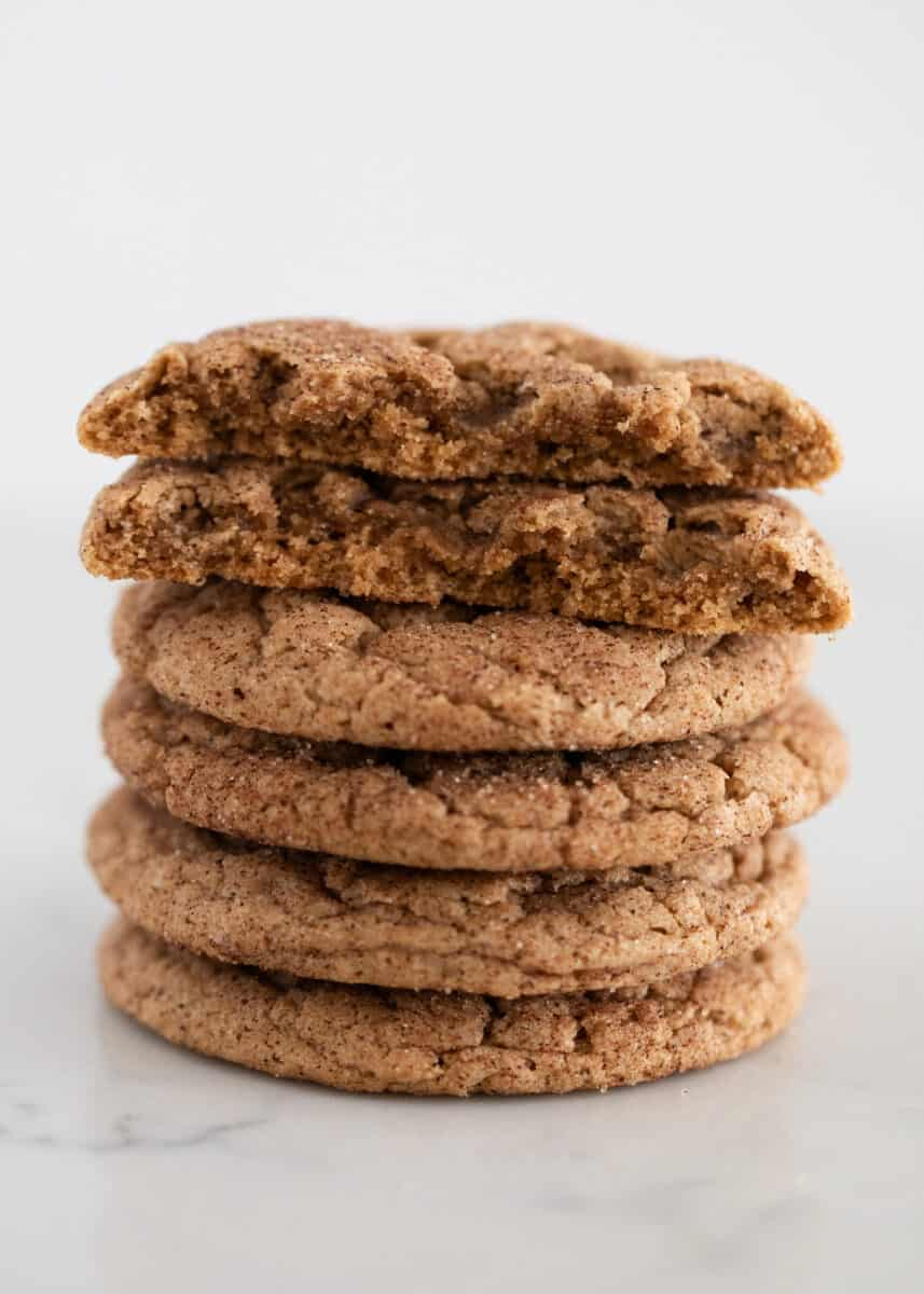 stacked spice cookies