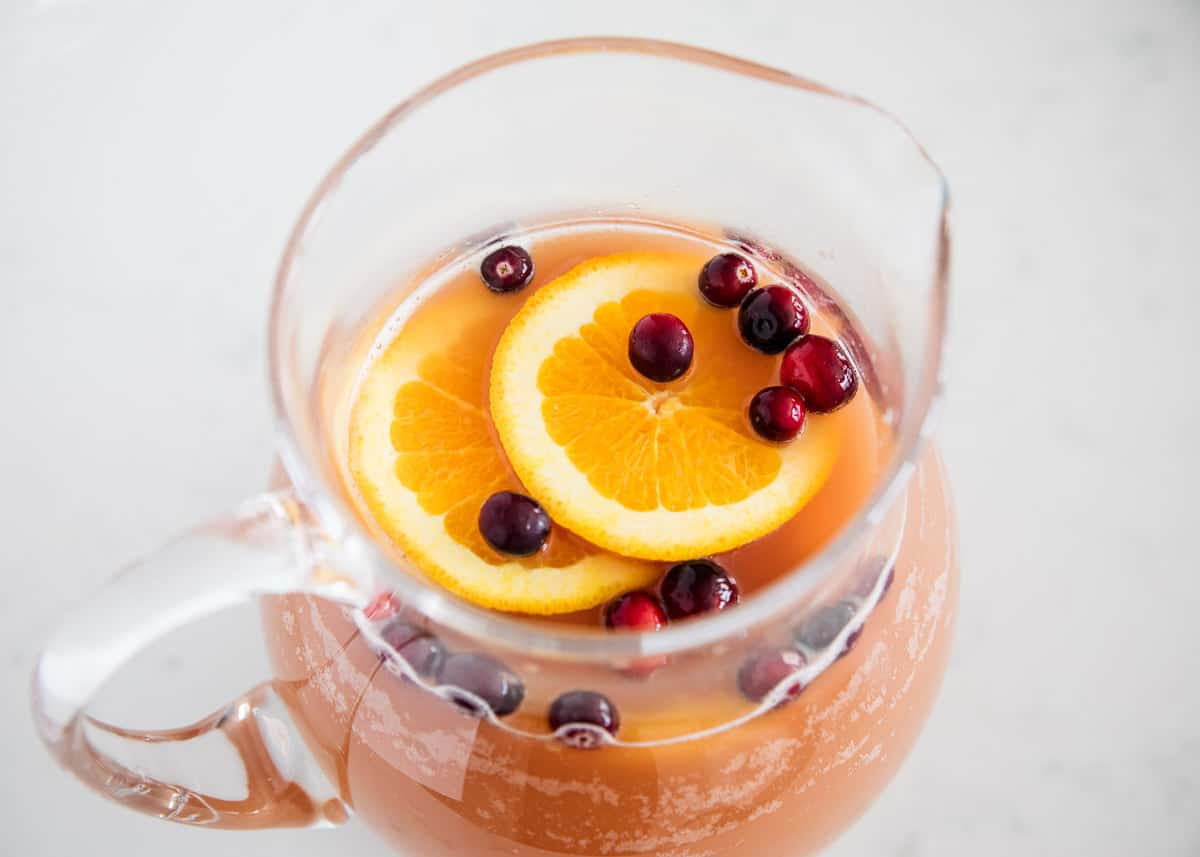 Easy Holiday Punch Recipe 4 Ingredients I Heart Naptime