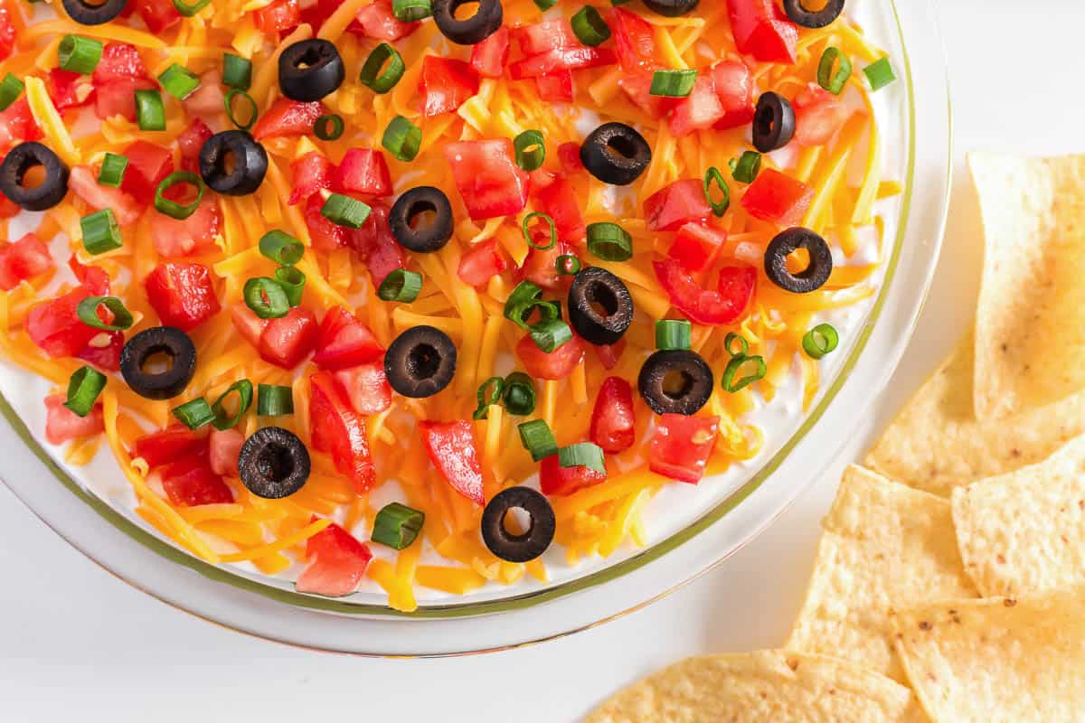 5 layer dip with chips