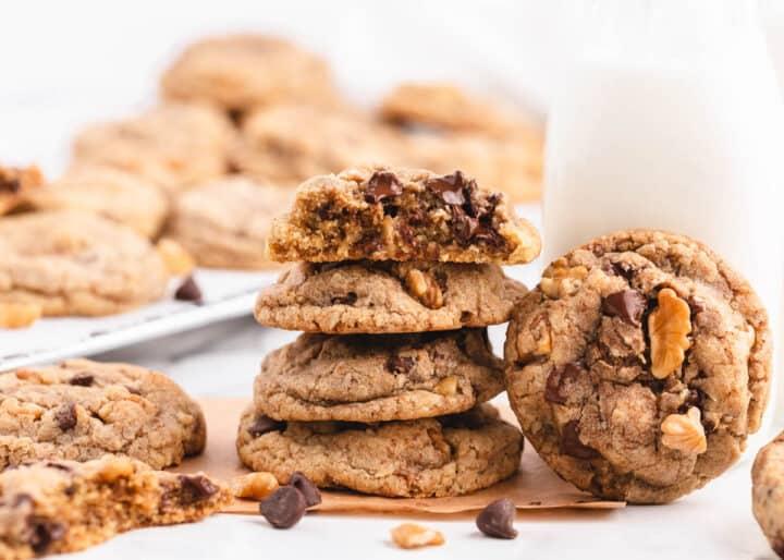 stacked Neiman Marcus cookies