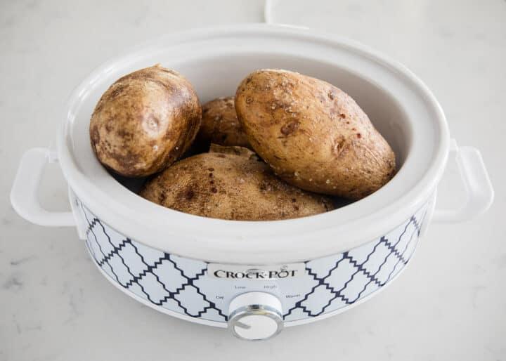 potatoes in crockpot