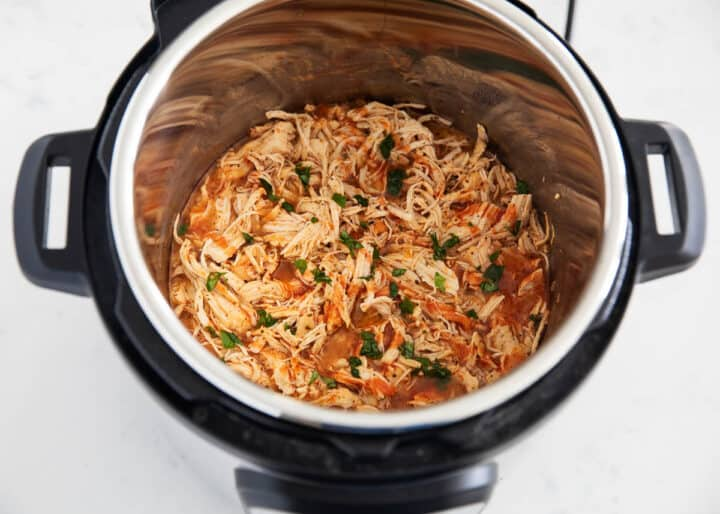 buffalo chicken in insta pot