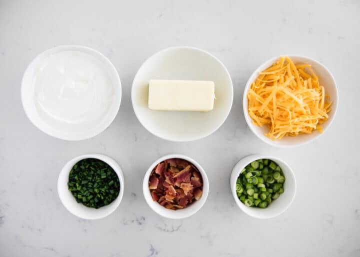 loaded baked potato toppings