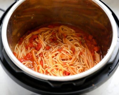 spaghetti in instant pot