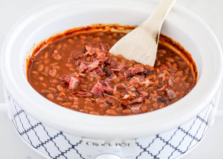 baked beans in crockpot