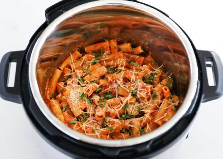ziti with cheese in instant pot