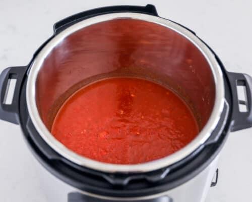 marinara sauce in instant pot