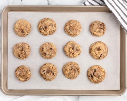 neiman marcus cookies on pan