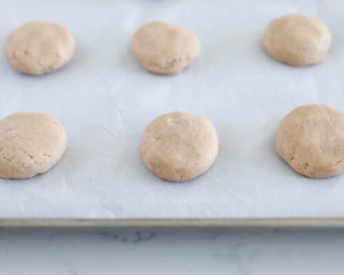 cookies on sheet pan
