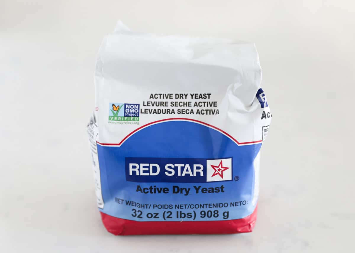 bag of active dry yeast