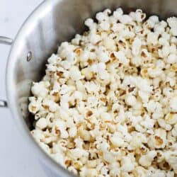 popcorn in stove top