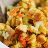 spoonful of stuffing